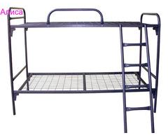 Недорогие кровати металлические в производственные помещения